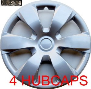 "16"" SET OF 4 HUBCAPS TOYOTA CAMRY MATRIX WHEEL COVERS DESIGN ARE UNIVERSAL HUB CAPS FIT MO"