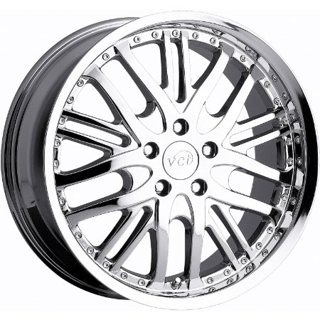 VCT Manzano 20 Chrome Wheel / Rim 5x4.5 with a 38mm Offset and a 73.1 Hub Bore