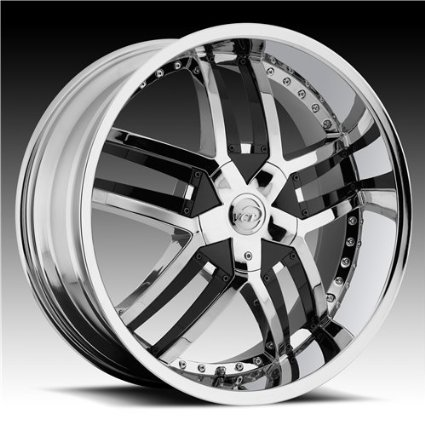 VCT WHEELS LOMBARDI CHROME 5X115/5X5.5 +15 - 24X9.5
