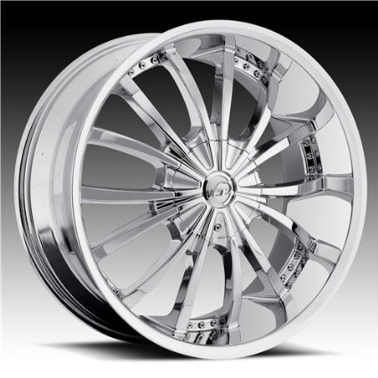 VCT WHEELS MANCINI CHROME 5X115/5X127 +15 - 24X9.5