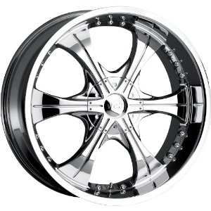 VCT WHEELS SCARFACE 2 CHROME 5x115/5x127 +40 - 20X8.5
