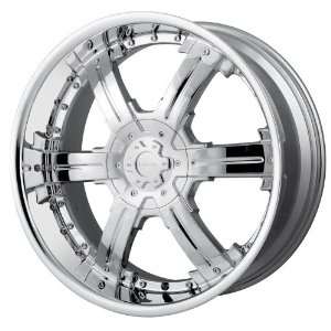 22x9.5 Veloche Vicious (915) (Chrome) Wheels/Rims 6x135/139.7 (915C-22937)