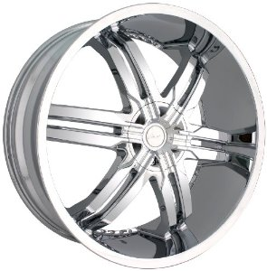 "Veloche Victory 985 Chrome Wheel (22x9.5"")"