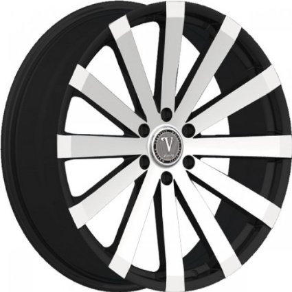 Velocity VW12B 26x10 Black Rims 6x5.5 with Lexani Tires LX-Nine 305/30/26