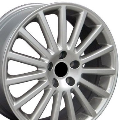 Golf Style Wheels Fits VW Volkswagon - Hyper Silver 18x7.5 Set of 4