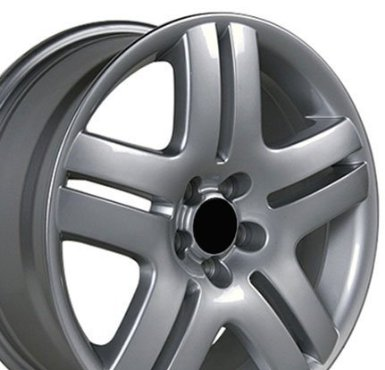 Jetta Style Wheels Fits VW Volkswagon - Silver 17x7 Set of 4