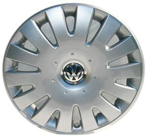 Volkswagen - 1K0601147GQLV Jetta 16 Inch New Factory Original Equipment Hubcap