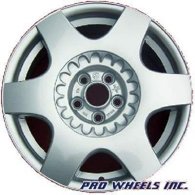 "Volkswagen Beetle 16X6.5"" Silver Factory Original Wheel Rim 69724"