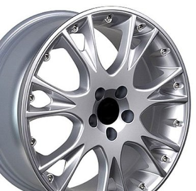 S80 Style Wheels Fits Volvo - Silver 18x8 Set of 4
