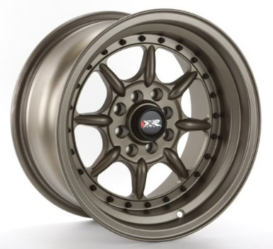 XXR 002 15x8 Matte Bronze 4-100/4-114.3 +0mm Wheels