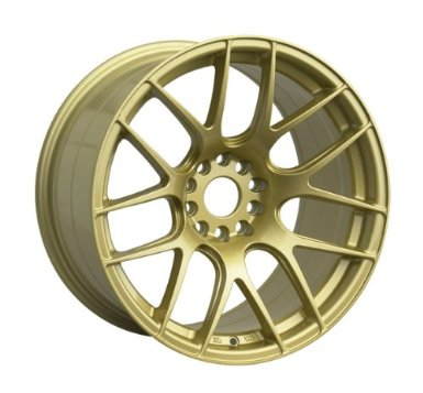 XXR 530 18x8.75 Gold 5-100/5-114.3 +20mm Wheels