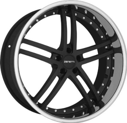 ZENETTI - bellagio - 20 Inch Rim x 10 - (5x4.5) Offset (40) Wheel Finish - flat black