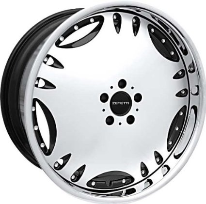 ZENETTI - heir - 20 Inch Rim x 8.5 - (5x112) Offset (35) Wheel Finish - machined black