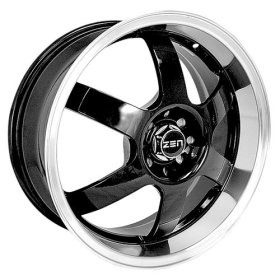 "Zen El Dorado 17"" Chrome ZR6 92-03 Wheels"