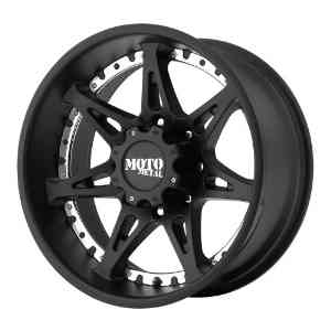 "Moto Metal MO961 Wheel with Satin Black Finish (18x9""/8x6.5"")"