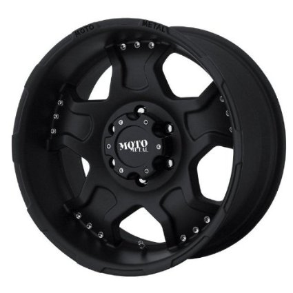 "Moto Metal Series MO957 Matte Black Wheel (17x9""/6x5.5"")"