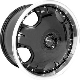 Zen Dodge Neon 1994-2004 MB5 Black Wheels Rims
